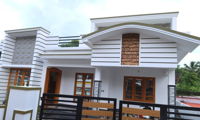 1150 Sq Ft 3BHK Single Floor Beautiful House at 5.50 Cent Plot