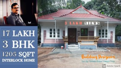 Photo of 1205 Sq Ft 3BHK Traditional Style Single Floor House, 17 Lacks