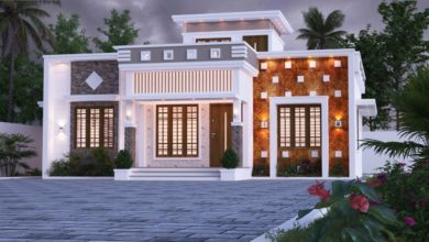 Photo of 1220 Sq Ft 2BHK Single Floor Modern and Beautiful House Design