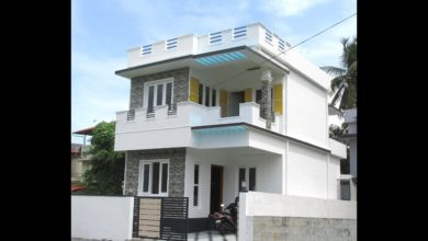 Photo of 1300 Sq Ft 3BHK Two-Storey Modern House at 2.250 Cent Plot