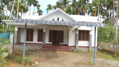 Photo of 1350 Sq Ft 3BHK Beautiful Single Floor House at 7 Cent Plot