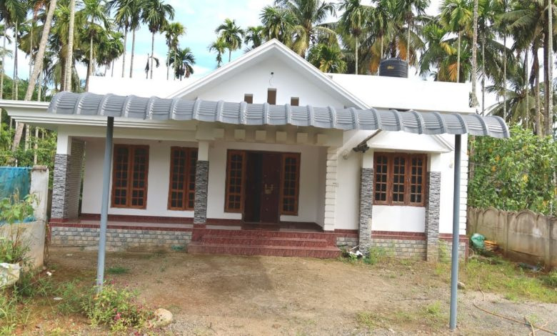 1350 Sq Ft 3BHK Beautiful Single Floor House at 7 Cent Plot