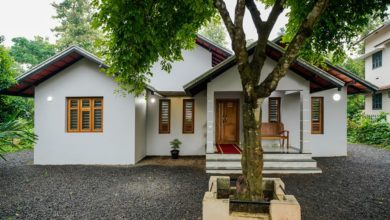 Photo of 1450 Sq Ft 3BHK Colonial Style Single Floor House and Free Plan, 19 Lacks