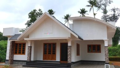 Photo of 1450 Sq Ft 3BHK Contemporary Style Single-Storey House at 10 Cent Plot