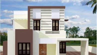 Photo of 1450 Sq Ft 4BHK Flat Roof Type Two-Storey House and Free Plan, 20 Lacks