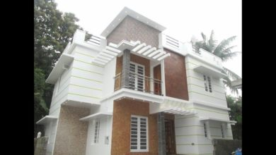 Photo of 1450 Sq Ft 4BHK Modern Double Floor House at 3 Cent Plot