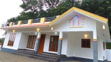 Photo of 1500 Sq Ft 3BHK Modern Single Floor House at 10 Cent Plot