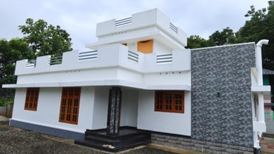 Photo of 1650 Sq Ft 3BHK Single Floor Beautiful House at 12 Cent Plot