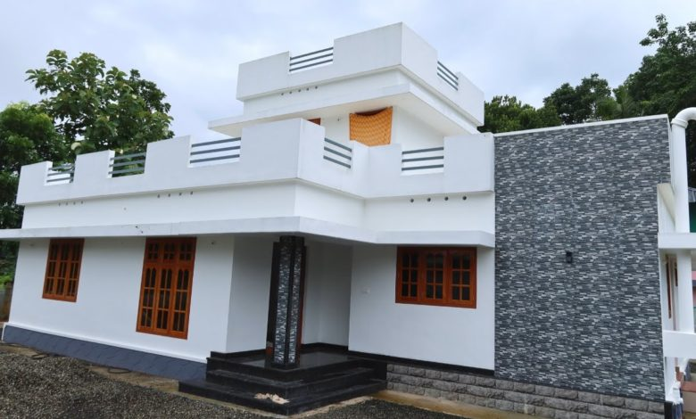 1650 Sq Ft 3BHK Single Floor Beautiful House at 12 Cent Plot