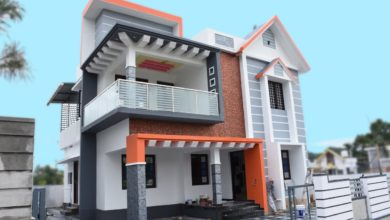 Photo of 1750 Sq Ft 3BHK Contemporary Style Two-Storey House at 5 Cent Plot