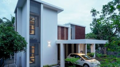 Photo of 1800 Sq Ft 4BHK Contemporary Style Two-Storey House at 7 Cent Plot