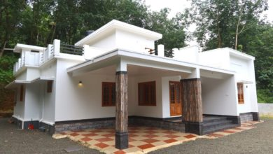 Photo of 1900 Sq Ft 3BHK Single-Storey Flat Roof Modern House at 19.25 Cent Plot