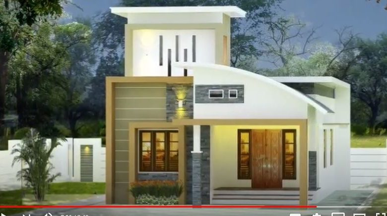 2 Bedroom Single Floor Contemporary Style Beautiful House and Free Plan