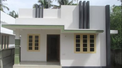 Photo of 600 Sq Ft 2BHK Single Floor Modern House at 2.850 Cent Plot
