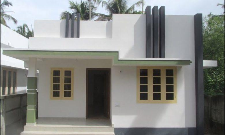 600 Sq Ft 2BHK Single Floor Modern House at 2.850 Cent Plot