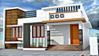 Photo of 650 Sq Ft 2BHK Contemporary Style Single-Storey House and Plan, 8 Lacks