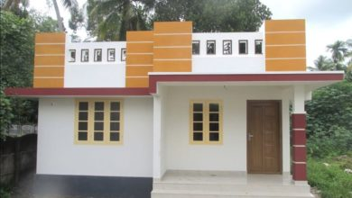 Photo of 700 Sq Ft 2BHK Modern Single-Storey House at 3 Cent Land