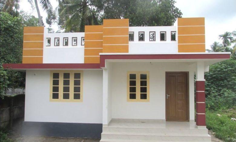 700 Sq Ft 2BHK Modern Single-Storey House at 3 Cent Land