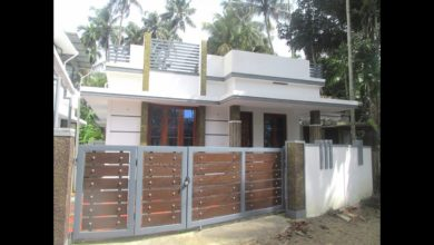 Photo of 742 Sq Ft 2BHK Single Floor Modern House at 3 Cent Land