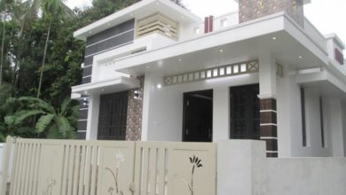 Photo of 750 Sq Ft 3BHK Modern Single-Storey House at 3 Cent Plot