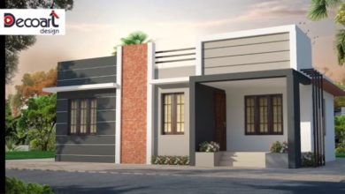 Photo of 784 Sq Ft 3BHK Simple Single Floor House and Free Plan, 10 Lacks