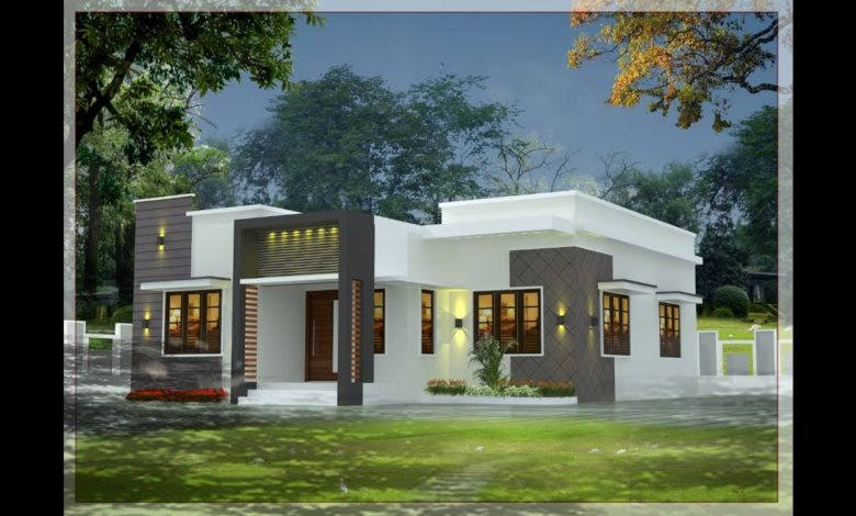 800 Sq Ft 2BHK Modern and Beautiful Single Floor House and Plan, 10 Lacks