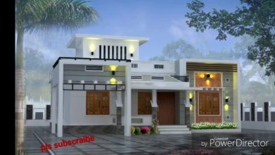 Photo of 900 Sq Ft 3BHK Modern Single Floor House and Free Plan