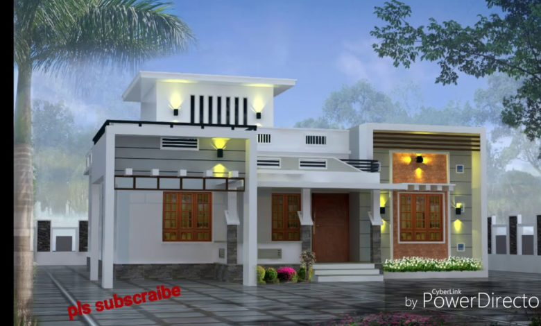 900 Sq Ft 3BHK Modern Single Floor House and Free Plan