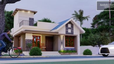 Photo of 1030 Sq Ft 2BHK Modern Single Floor House and Free Plan