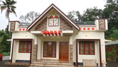 Photo of 1050 Sq Ft 3BHK Single Floor Beautiful House at 30 Cent Plot