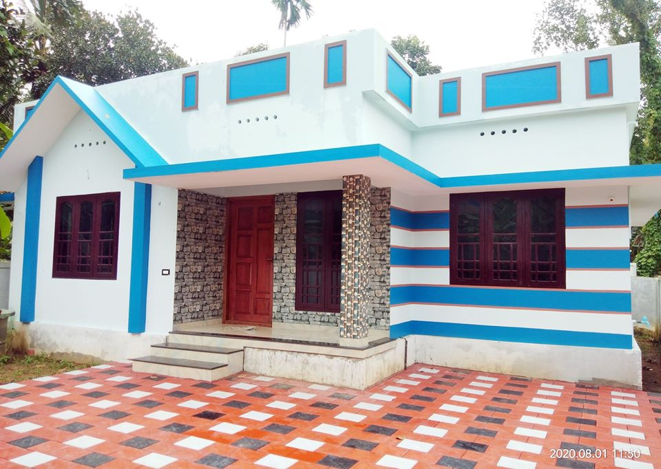 1110 Sq Ft 3BHK Beautiful Single Floor House and Free Plan