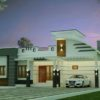 1148 Sq Ft 2BHK Contemporary Style Single-Storey House and Free Plan, 23 Lacks