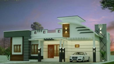 Photo of 1148 Sq Ft 2BHK Contemporary Style Single-Storey House and Free Plan, 23 Lacks