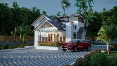 Photo of 1196 Sq Ft 2BHK Contemporary Style Modern House