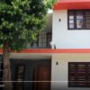 1200 Sq Ft 4BHK Double Floor Modern House and Free Plan, 18 Lacks