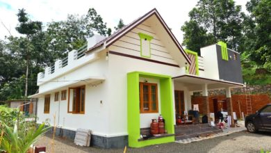 Photo of 1300 Sq Ft 3BHK Traditional Style Single Floor House at 18 Cent Plot