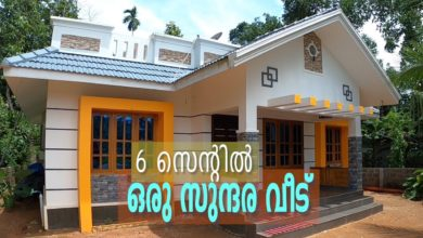 Photo of 1315 Sq Ft 3BHK Kerala Style Single Floor House at 6 Cent Plot, 25 Lacks