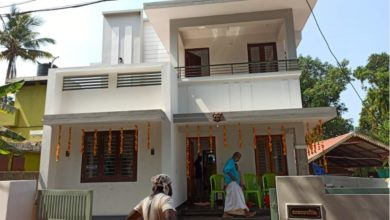 Photo of 1437 Sq Ft 3BHK Modern Two-Storey House and Free Plan, 23 Lacks