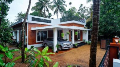 Photo of 1500 Sq Ft 3BHK Simple Style Single Floor House and Free Plan, 25 Lacks