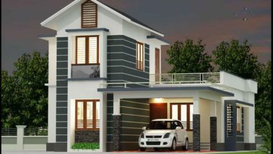 Photo of 1545 Sq Ft 3BHK Beautiful Two-Storey House and Free Plan