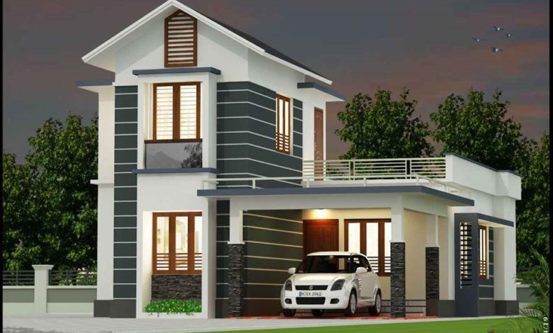 1545 Sq Ft 3BHK Beautiful Two-Storey House and Free Plan
