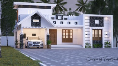 Photo of 1550 Sq Ft 2BHK Contemporary Style Single-Storey House Design