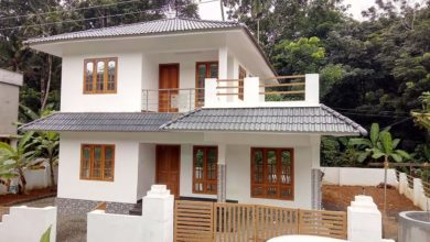 Photo of 1600 Sq Ft 4BHK Traditional Style Two-Storey House at 8.25 Cent Plot