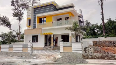 Photo of 1650 Sq Ft 3BHK Flat Roof Type Modern Two Floor House at 5 Cent Plot