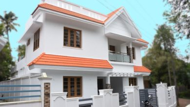 Photo of 1900 Sq Ft 4BHK Traditional Mix Style Two Floor Beautiful House at 5 Cent