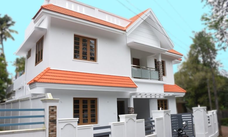 1900 Sq Ft 4BHK Traditional Mix Style Two Floor Beautiful House at 5 Cent