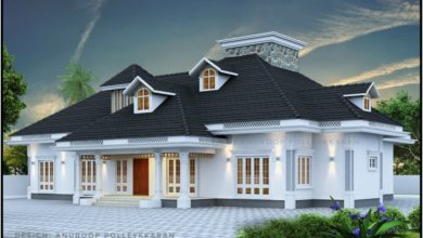 Photo of 2970 Sq Ft 4BHK Traditional Nalukettu Style Single-Storey House and Free Plan