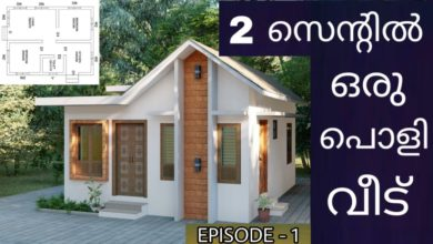 Photo of 410 Sq Ft 2BHK Modern Single Floor House and Free Plan