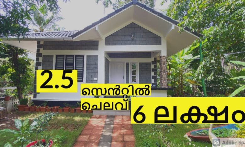 435 Sq Ft 1BHK Low Budget Beautiful House at 2.5 Cent, 6 Lacks
