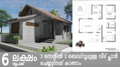 Photo of 517 Sq Ft 2BHK Single Floor Beautiful House and Free Plan, 6 Lacks